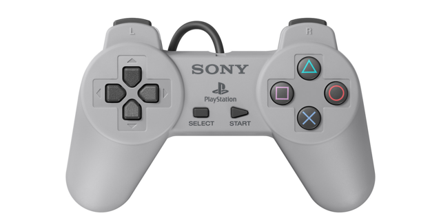 2. The controllers are similarly faithful reproductions of the original PS1 gamepad