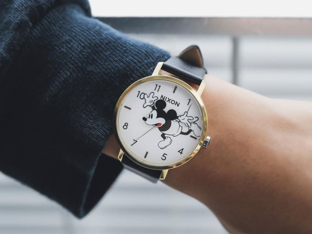ef1954a50e69 A Mickey Mouse watch they ll actually want to look at to tell the time