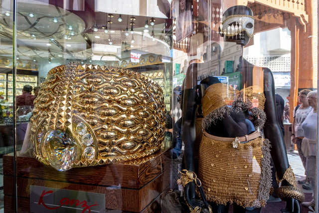 Dubai's most outrageous open-air market sells only gold and has a $3