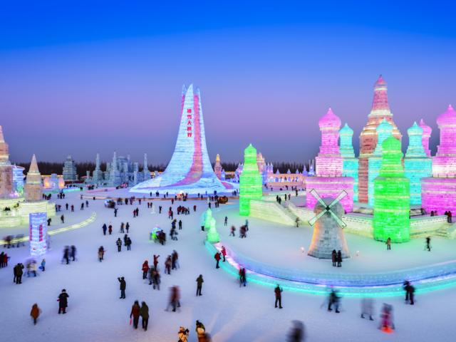 January — Harbin, China