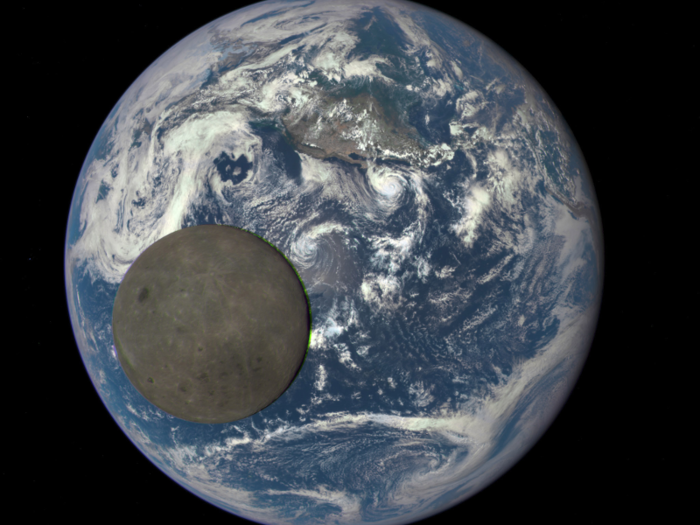 If Earth were the size of a basketball, the moon would be the size of a tennis ball.