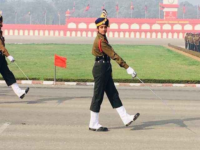 In a first, Lt. Bhavana Kasturi headed an all-male army contingent on India?s Army Day parade