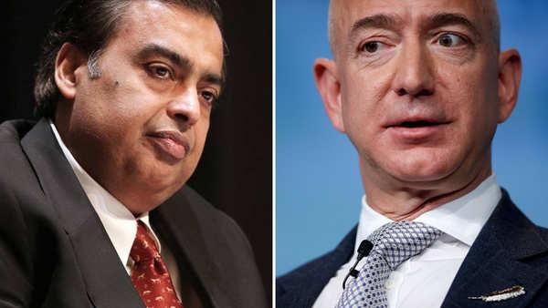 E-commerce wars: Amazon's Jeff Bezos vs Mukesh Ambani in India