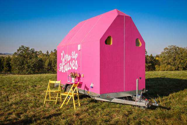 Construction on the Magenta should last three months — the industry average for tiny homes.