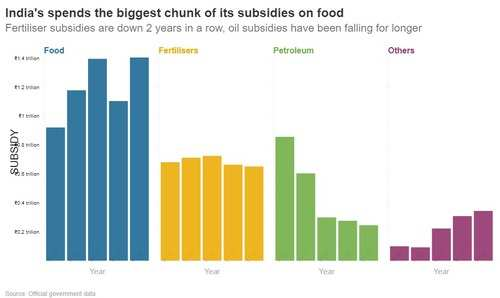 Where do the government subsidies go?