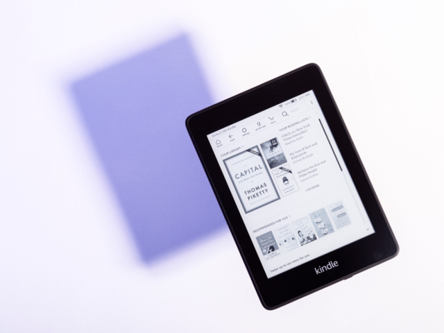 Today, Amazon's Kindle starts at $80 and comes in varying styles and sizes.