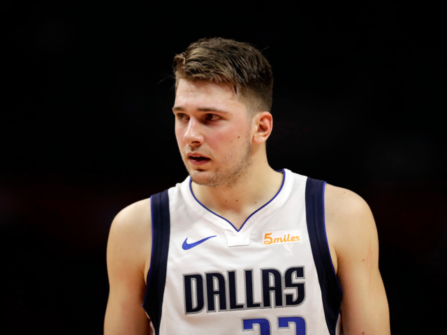 39b322bcd Luka Doncic s rookie season has made him the frontrunner for Rookie of the  Year. He s averaging 20.8 points