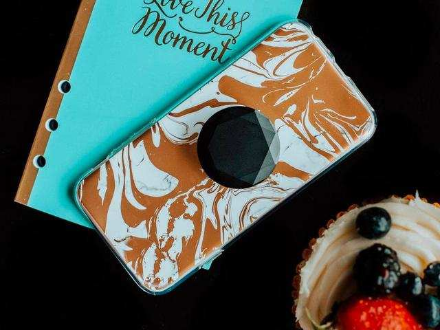 A PopSockets Grip to make your phone easier to hold