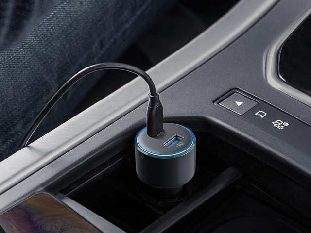 A car charger that's powerful enough to charge a laptop