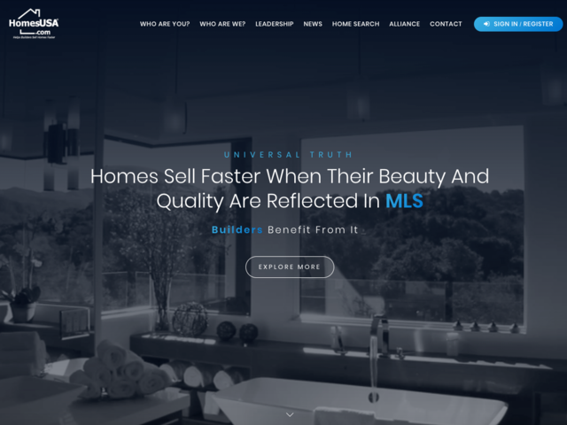 The Texas-based broker created HomesUSA.com, an MLS (multiple listing service) platform for home builders to track the progress of their homes and manage listings. Caballero manages listings for more than 60 builders in the Dallas-Ft. Worth, Houston, Austin, and San Antonio areas.