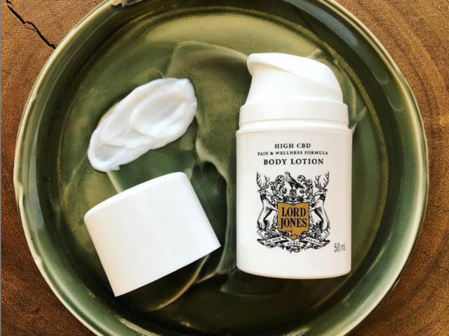 The best CBD body lotion