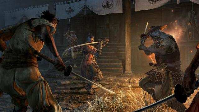 An upcoming ninja action game from the creators of 'Dark