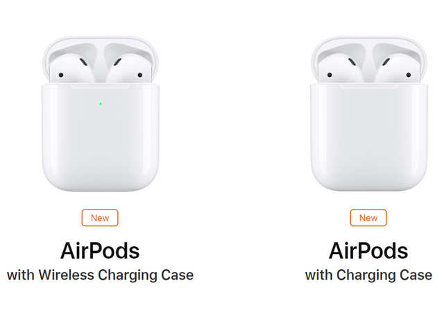 The New Airpods Can Be Bought With Either A Wireless