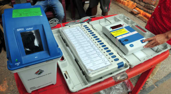 Image result for indian evm machine