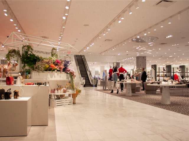 We compared the shopping experiences at Neiman Marcus and Saks Fifth