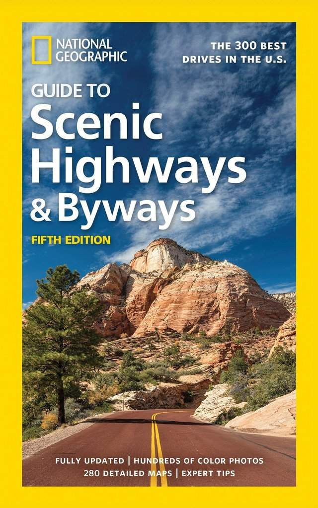 For the ambitious road warrior: 'National Geographic Guide to Scenic Highways and Byways, 5th Edition: The 300 Best Drives in the U.S' by National Geographic