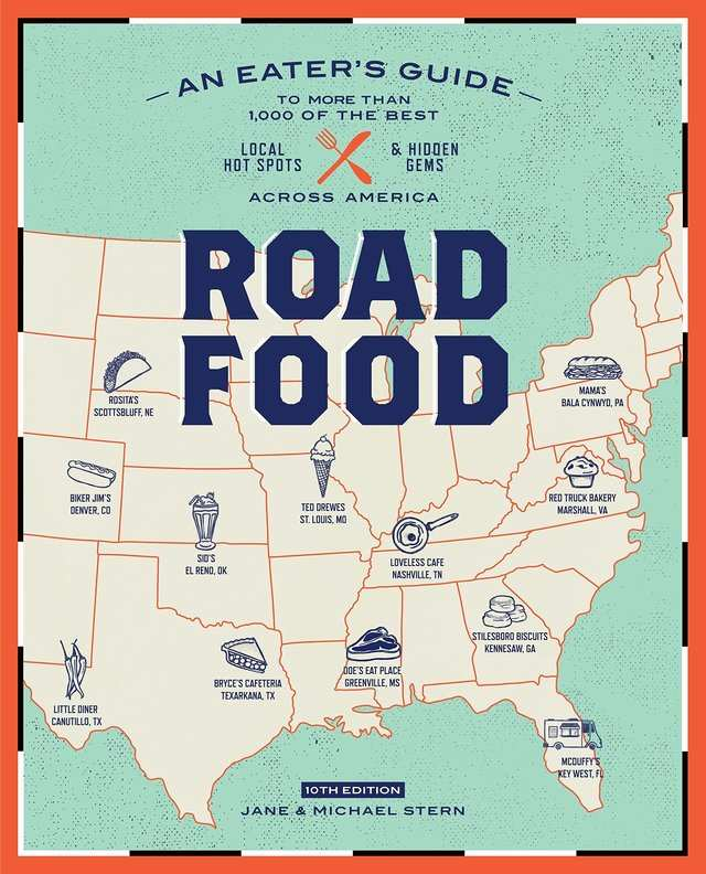 For the hungry roadtripper: 'Roadfood, 10th Edition: An Eater's Guide to More Than 1,000 of the Best Local Hot Spots and Hidden Gems Across America' by Jane and Michael Stern