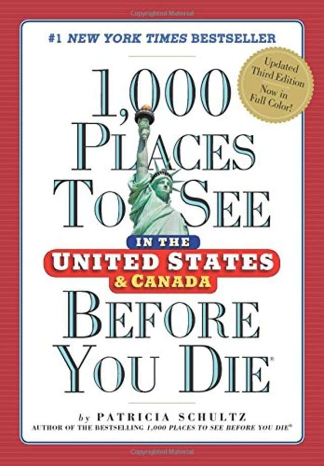 For the domestic traveler: '1,000 Places to See in the United States and Canada Before You Die' by Patricia Schultz