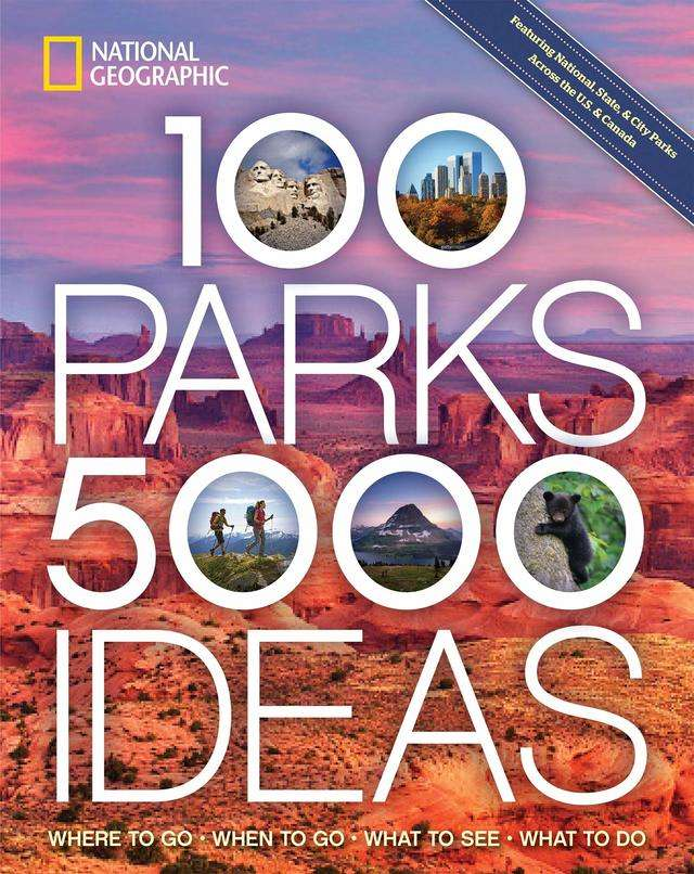 For the outdoor explorer: '100 Parks, 5,000 Ideas: Where to Go, When to Go, What to See, What to Do' by Joe Yogerst