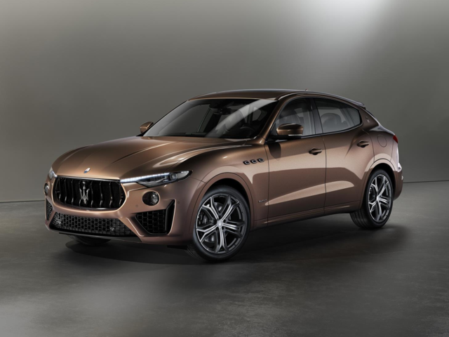 Maserati will be at the show with an updated Levante SUV.