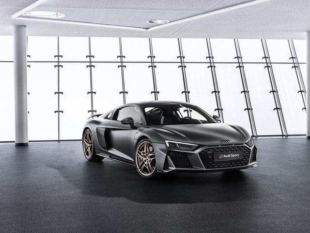 Audi will show off its $215,000 Decennium Edition R8 supercar.