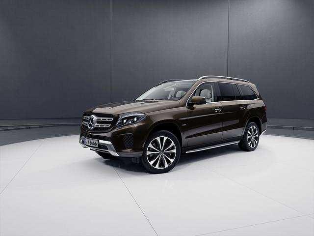 ... Its next-generation GLS three-row SUV.