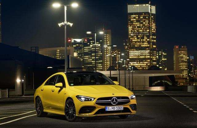 Mercedes-AMG will introduce the high-performance CLA 35 along with...