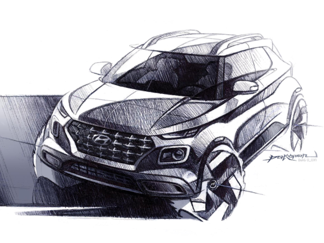 The Korean automaker is also set to unveil a new small SUV called the Venue.