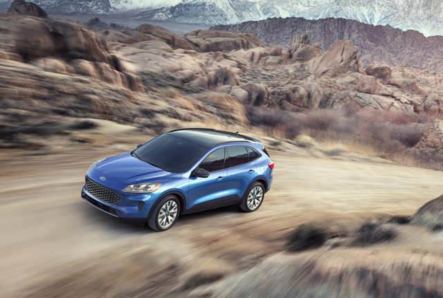 Lincoln's parent company Ford will show off its new 2020 Escape compact crossover.