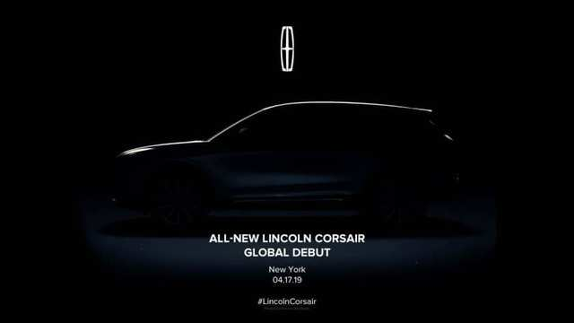 Lincoln is set to launch a new compact SUV called the Corsair.