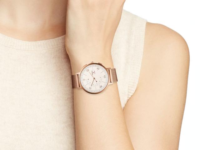 An attractive hybrid smartwatch