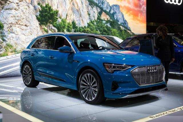 ... the new E-Tron electric hatchback.