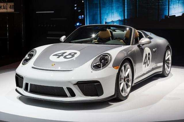 Porsche brought out a mean-looking 911 Speedster.