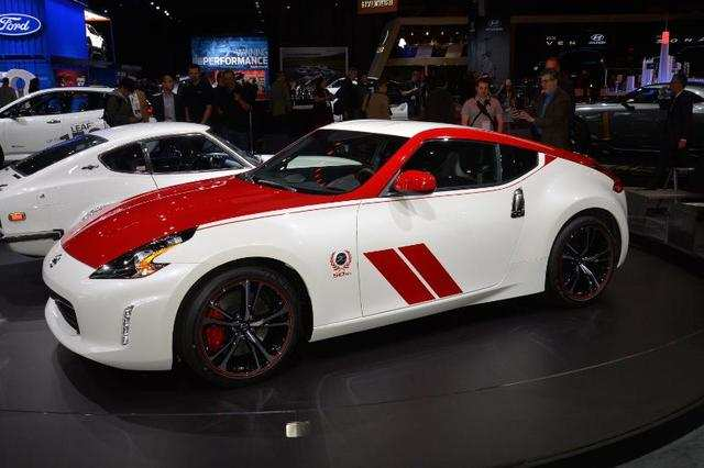 Nissan's venerable 370Z got a new appearance package to celebrate the legendary Z Car's 50th anniversary.