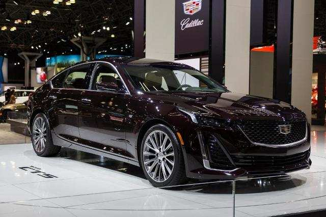 US automakers led the way with a trio of major new product introductions in the form of the Cadillac CT5 ...