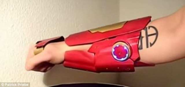5. Patrick's Iron Man Gauntlet