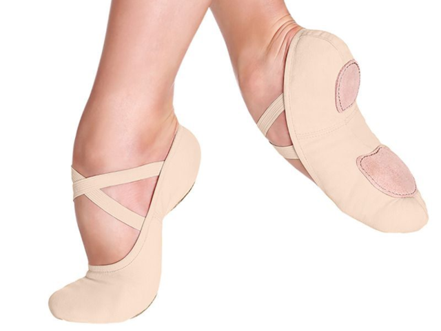 The best canvas ballet shoe