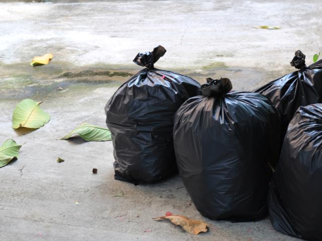 Image result for trash bags ambani house