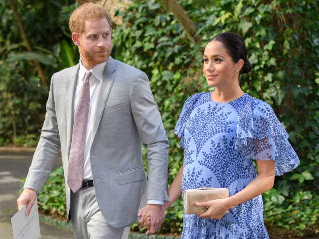 5364bdfee0fbe Meghan has been preparing for the royal baby in style — she's reportedly  spent more than $500,000 on maternity outfits so far.