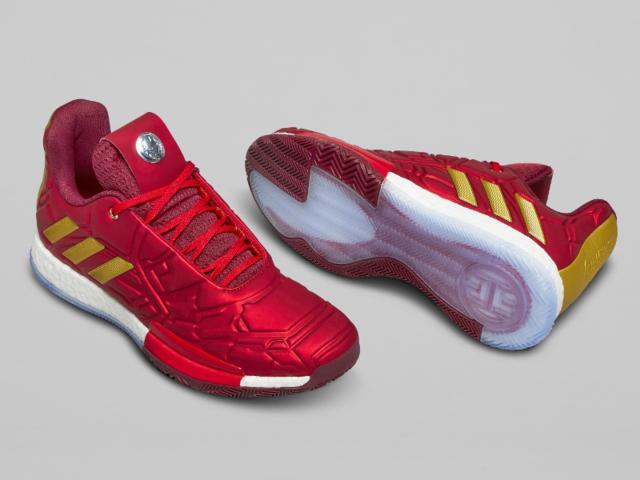 wholesale dealer 308b4 2dcc9 Marvel s Iron Man x Adidas Harden Vol. 3