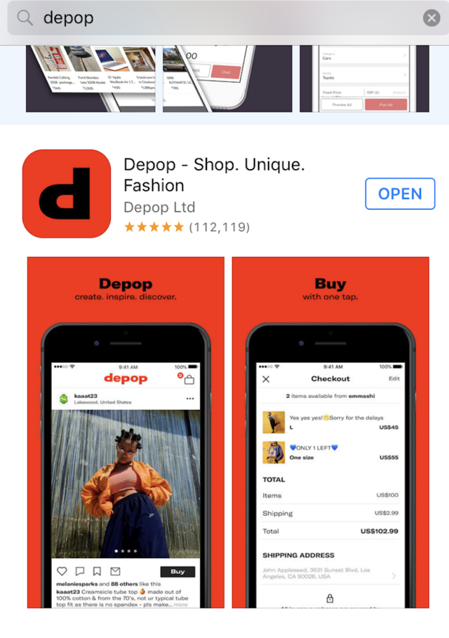db864df000ab23 The ease at which you can shop and sell items on Depop has been a major  contributor to its success.