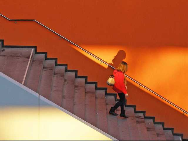 Turn your stairs into an interval workout