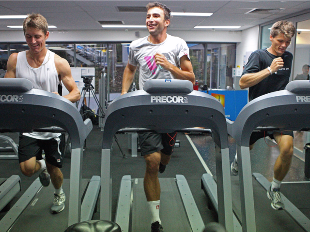 Take your business meetings on the treadmill
