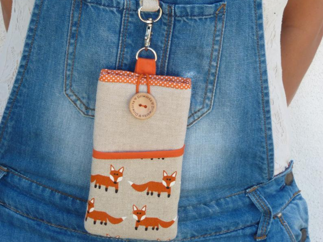 If you're looking for something affordable, you can find handmade designs like this cute fox phone case on Etsy for around $25.
