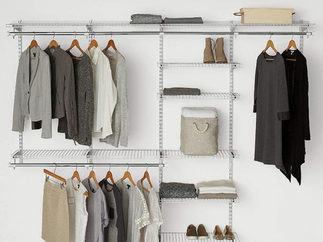 Get a built-in closet organizer