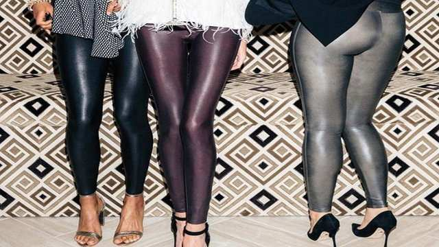 588f4a6275cfd Spanx Faux Leather Leggings review: 3 women try them out - Business Insider