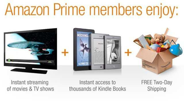 Amazon Prime really is worth it if you order from the site more than once a month.