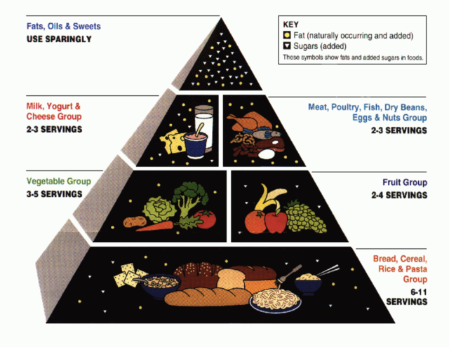 MYTH: The food pyramid should be your go-to guide.