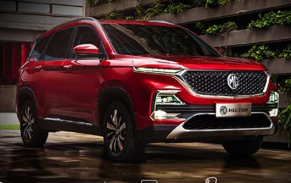 Mg Hector Launched Today With Starting Price Of 12 18 Lakh In India