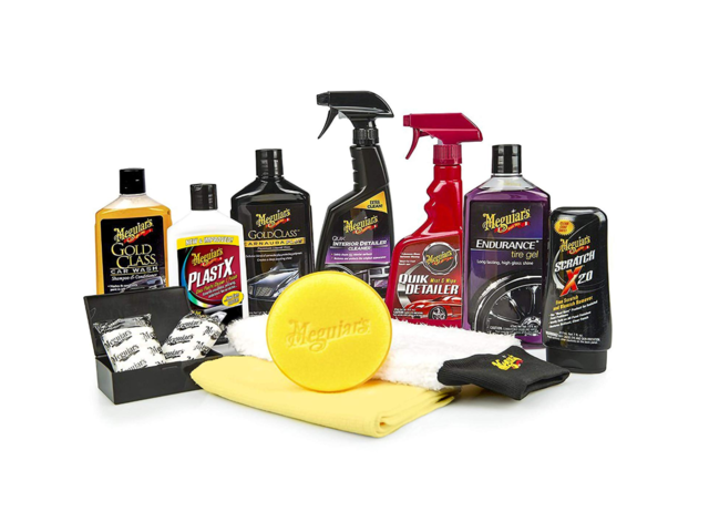 5. A word on specialty car wash products. I can take them or leave them, but companies such as Meguiar's have invested some know-how, so investigate and experiment if you like. If you want to start self-detailing your ride, these kits are worth a look.